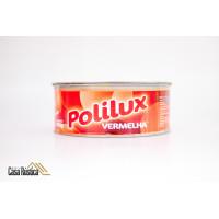 Cera de carnaúba polilux em pasta - vermelha - 400 gramas