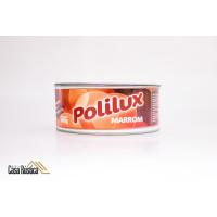 Cera de carnaúba polilux em pasta - marrom - 400 gramas