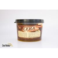 Cera de carnaúba móveis casa rústica especial para madeiras - tabaço - 450 ml