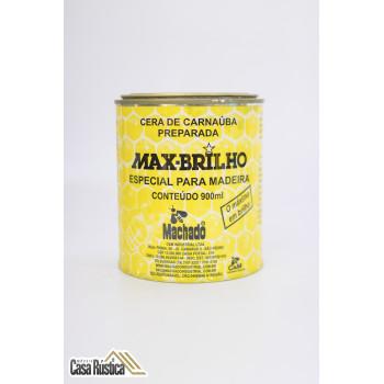 Cera de carnaúba max-brilho especial para madeiras - incolor - 900 ml