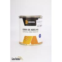 Cera de abelha benckol especial para madeiras, mármores e granitos - mogno - 900 ml