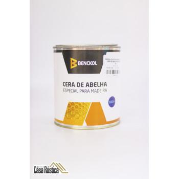 Cera de abelha benckol especial para madeiras, mármores e granitos - incolor - 900 ml