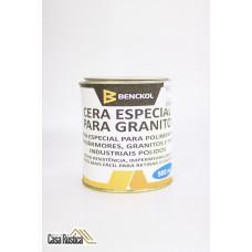 Cera benckol especial para polimento de mármores, granitos e pisos - incolor - 900 ml
