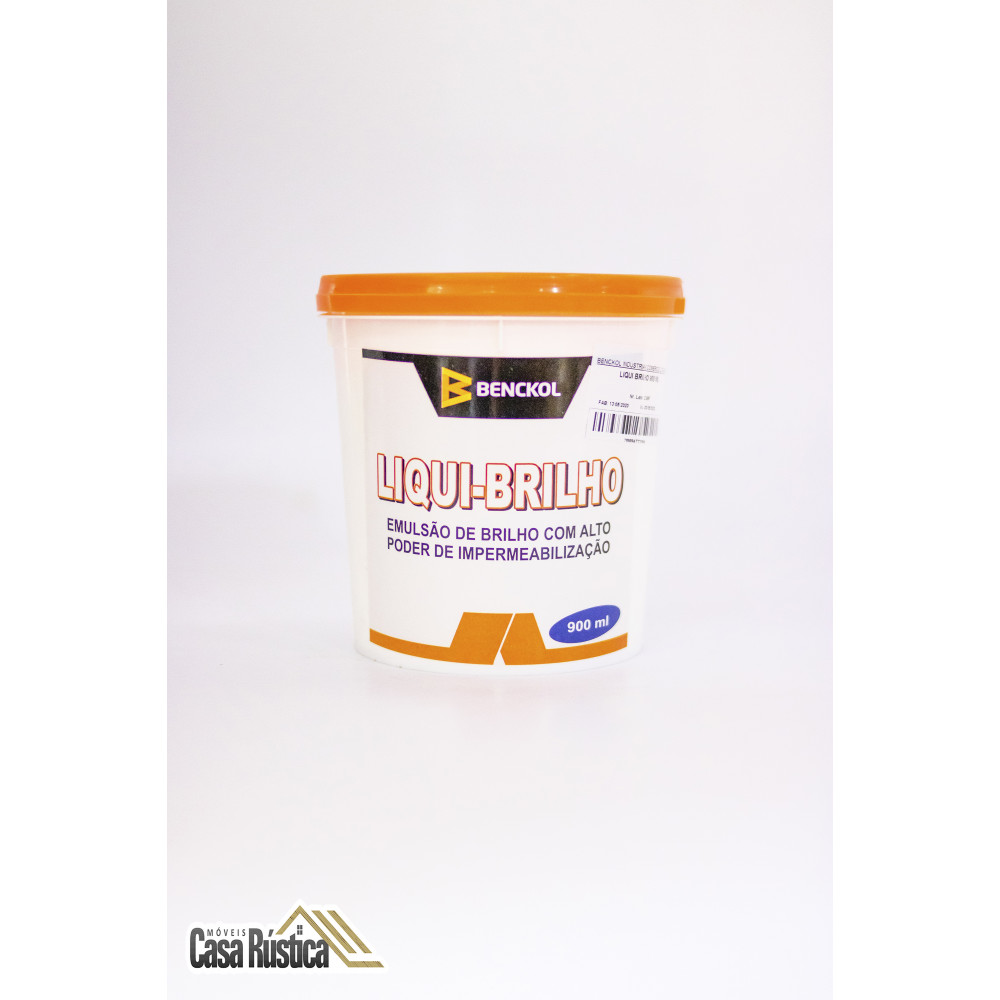 Impermeabilizante de parede benckol - liqui-brilho 900 ml