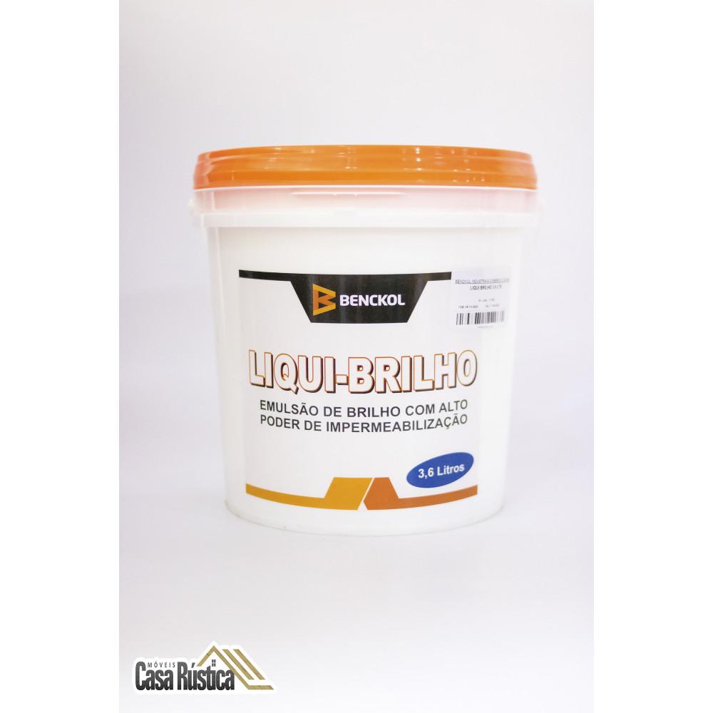 Impermeabilizante de parede benckol - liqui-brilho 3,6 l