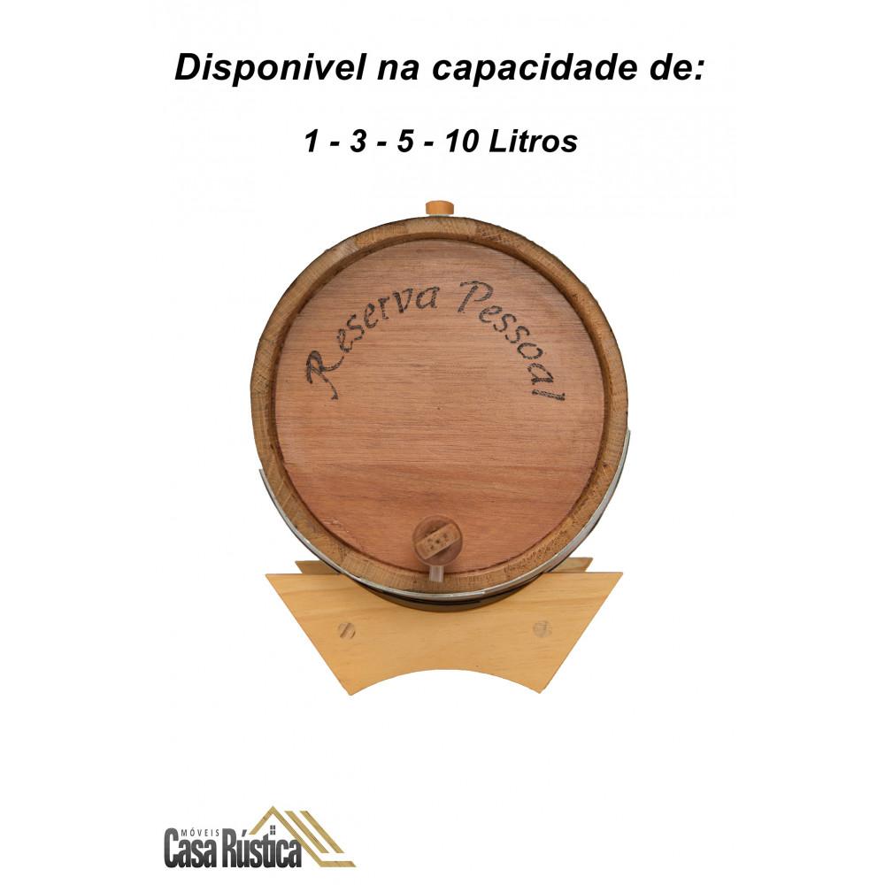 Barril / tonel / dorna - carvalho europeu 20 litros