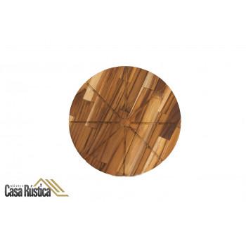 Tábua de pizza madeira teca
