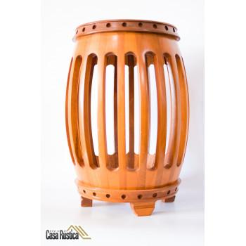 Banqueta City Garden - madeira jequitibá