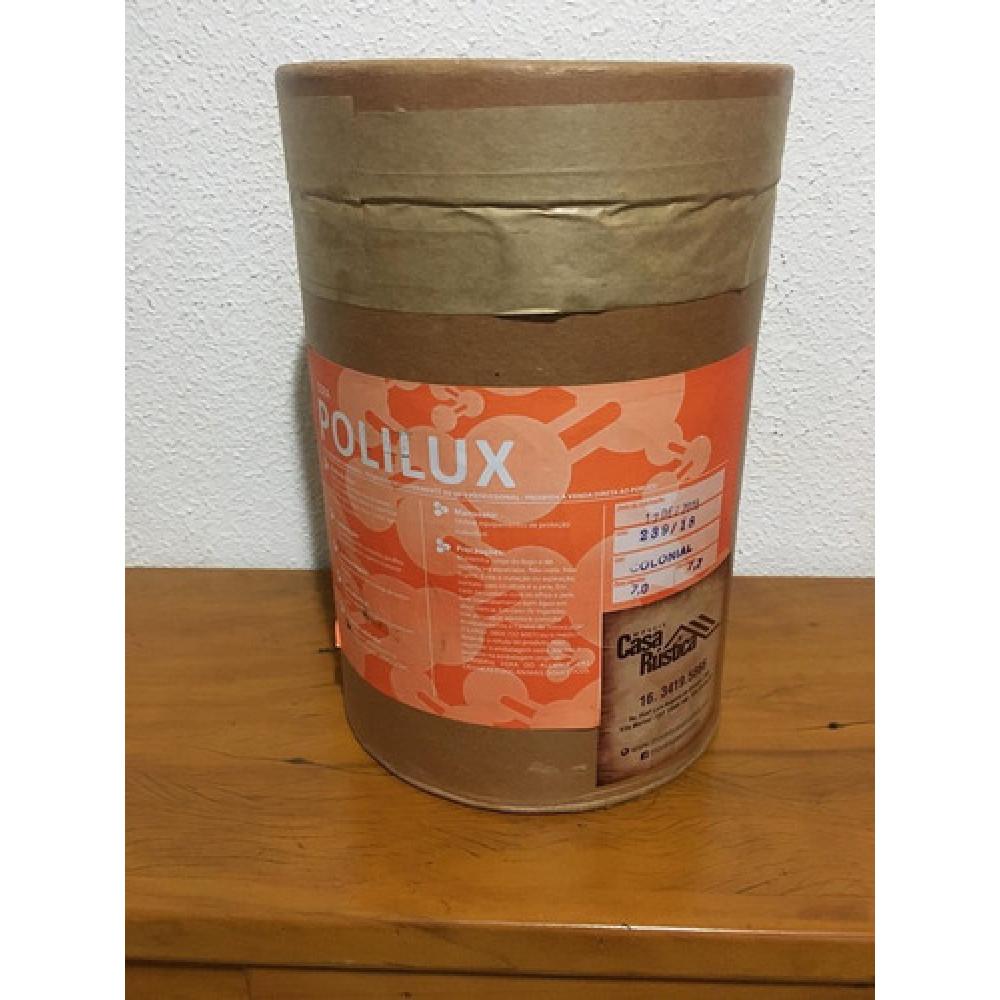 Cera de carnaúba polilux em pasta - colonial - 7 kg