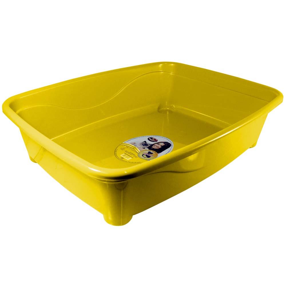 Banheira gato classic Furacão Pet - amarela
