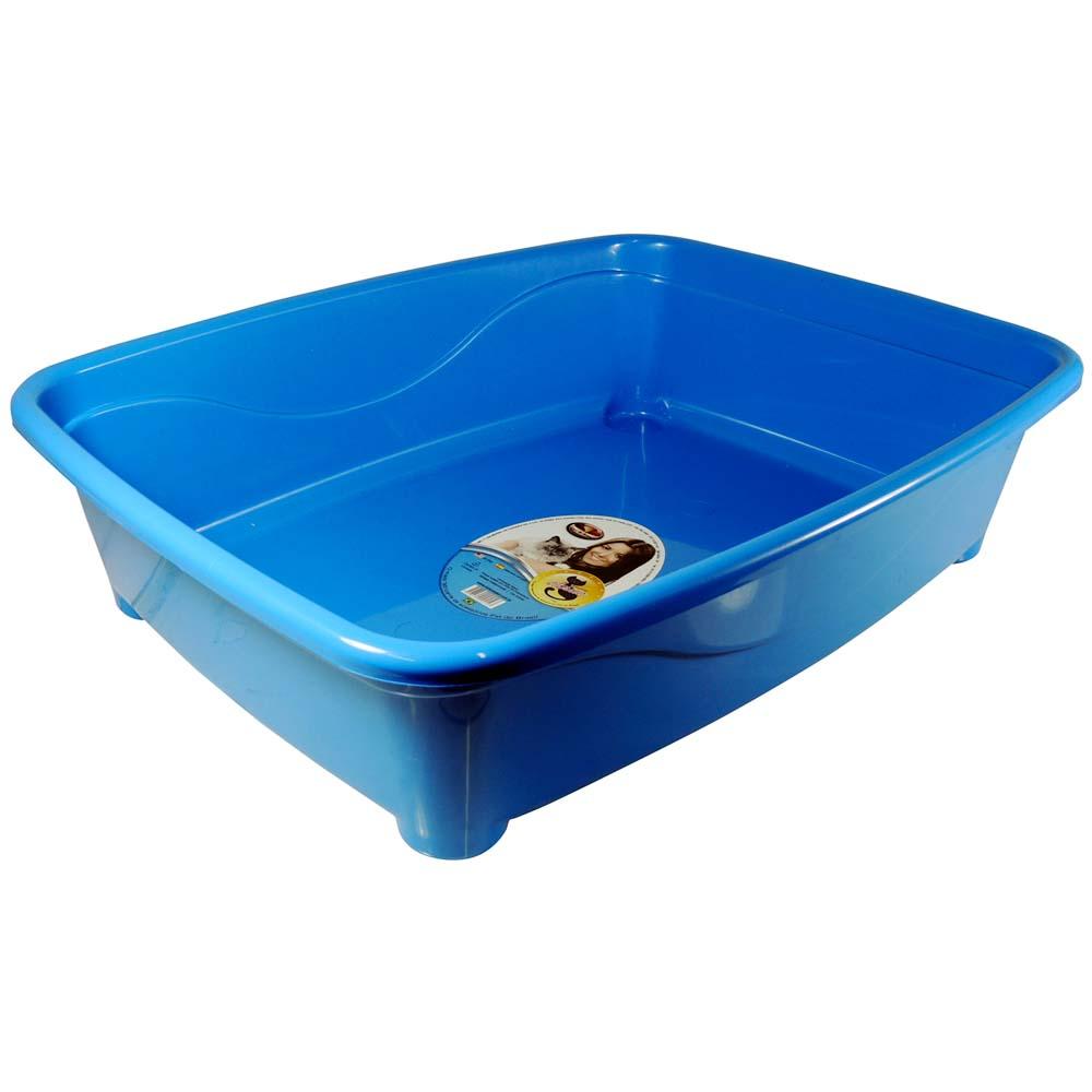 Banheira gato classic Furacão Pet - azul