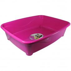 Banheira gato classic Furacão Pet - rosa