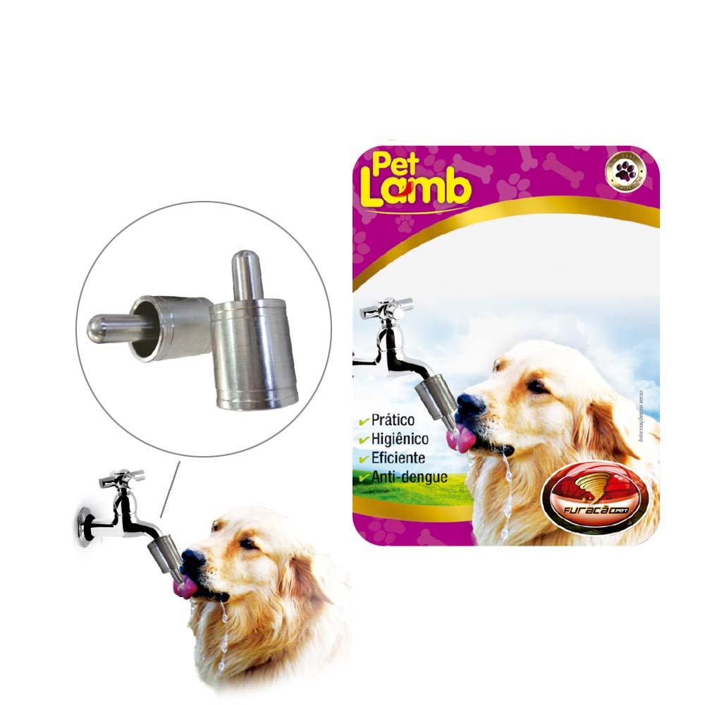 Bebedouro para cães em alumínio Automático para torneiras