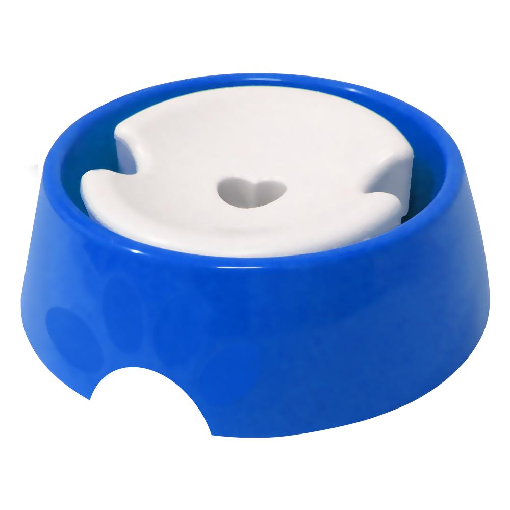 Bebedouro plástico para cães Pop pelos longos Furacão Pet - n3 - 1.000 ml (azul)