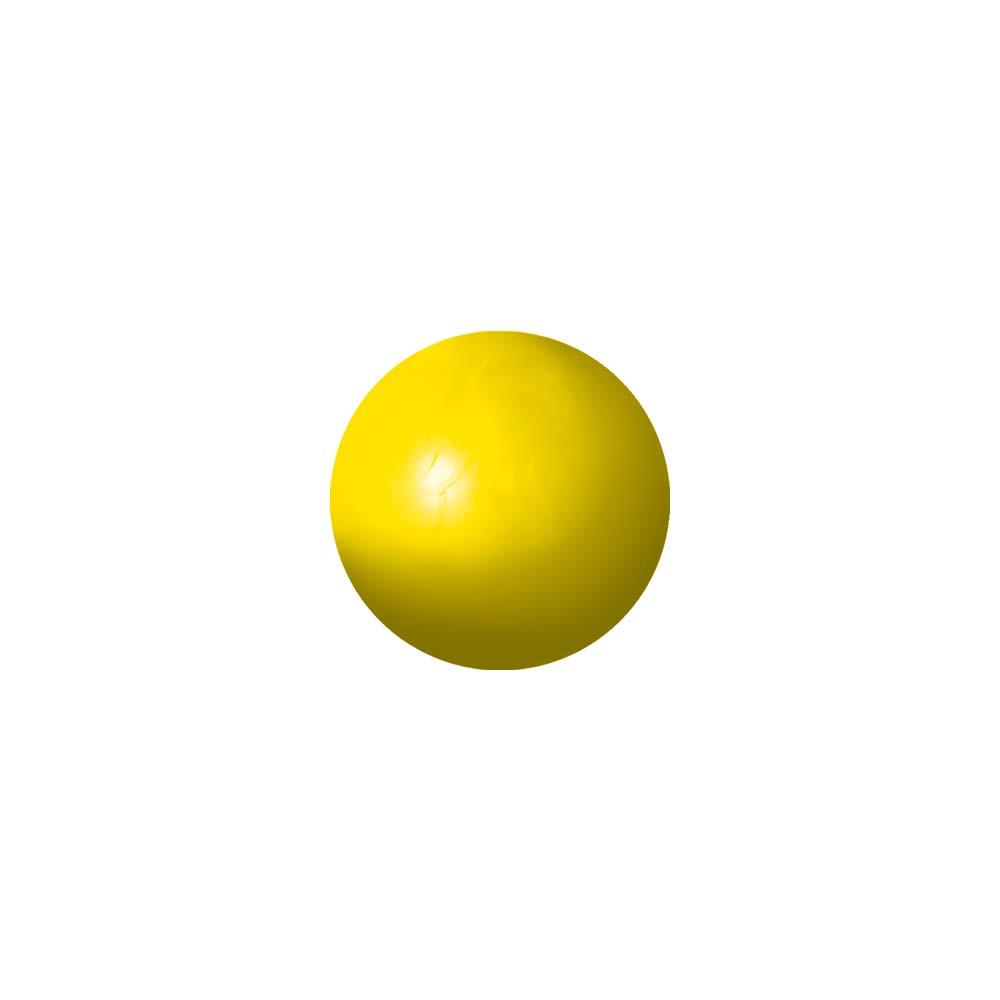 Bola maciça colorida para cães Furacão Pet 45 mm
