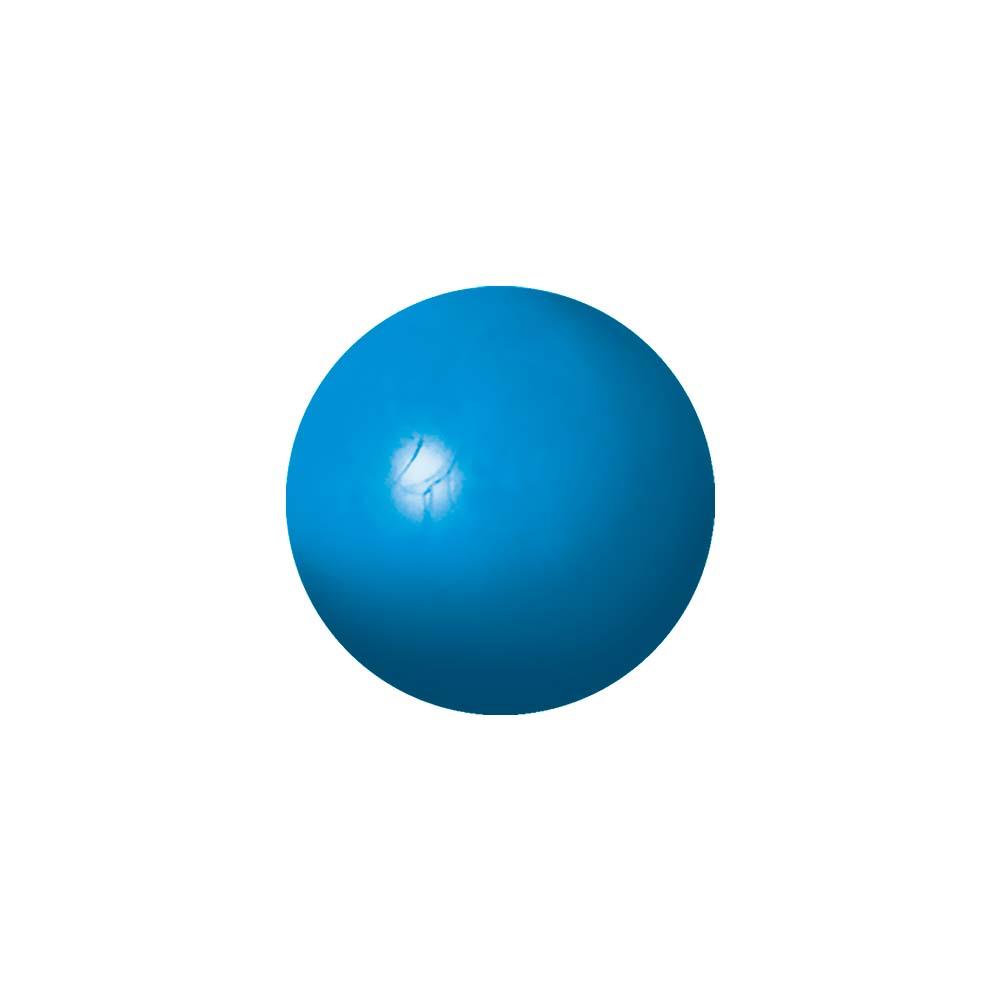 Bola maciça colorida para cães Furacão Pet 55 mm