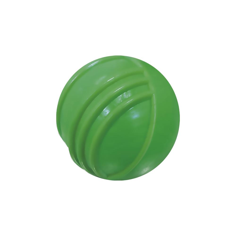 Bola maciça colorida com friso para cães Furacão Pet 85 mm