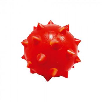 Bola maciça colorida Dogão com cravo para cães  80 mm
