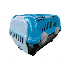 Caixa de transporte para animais n1 - azul