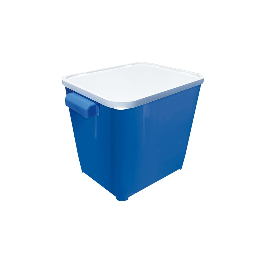 Canister para armazenar ração de Cão ou Gato Furacão Pet 6,0 kg (azul)