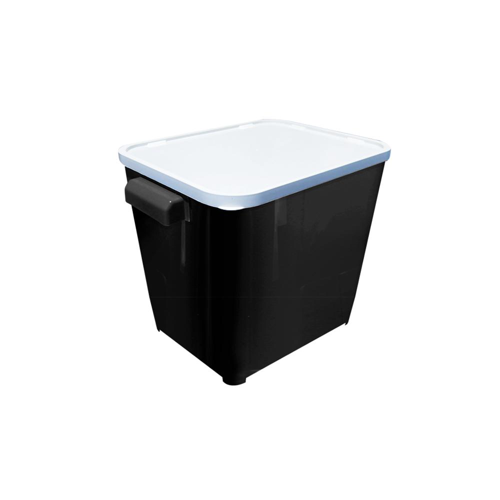 Canister para armazenar ração de Cão ou Gato Furacão Pet 6,0 kg (black)