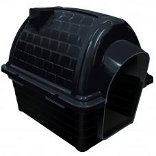 Casinha plástico para cães Furacão Pet Iglu n2,0 - black