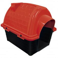 Casinha plástico para cães Furacão Pet Iglu n3,0 - vermelha