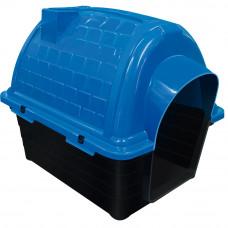 Casinha plástico para cães - Iglu n4 - azul