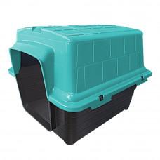Casinha plástico para cães n4 - verde
