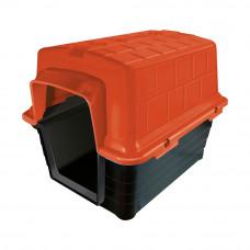 Casinha plástico Furacão Pet n4,0 - vermelha