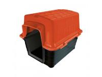 Casinha plástico Furacão Pet n5,0 - vermelha