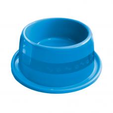 Comedouro plástico Anti-formiga para cães Furacão Pet n3 - 1000 ml (azul)