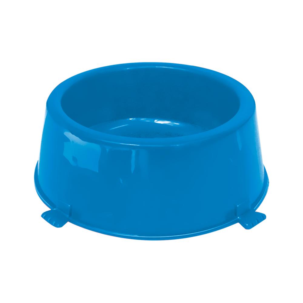 Comedouro plástico Classic para cães Furacão Pet n2 - 1.080 ml (azul)
