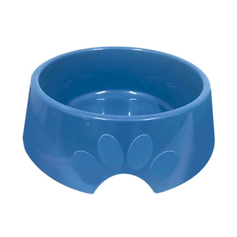 Comedouro plástico Pop para cães e gatos Furacão Pet n3 - 1.000 ml (azul)