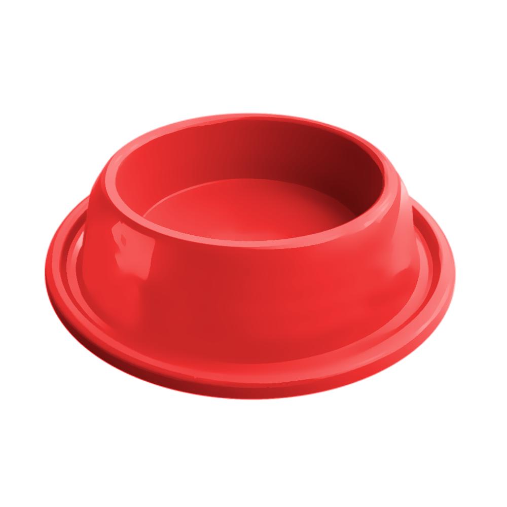 Comedouro plástico Gato anti-formiga Furacão Pet 200 ml (vermelho)
