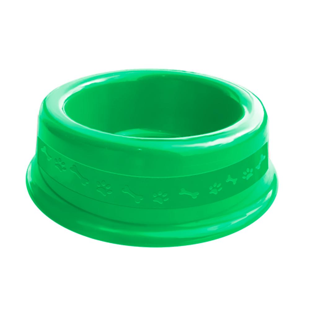 Comedouro plástico para cães e gatos Furacão Pet N1 - 350 ml