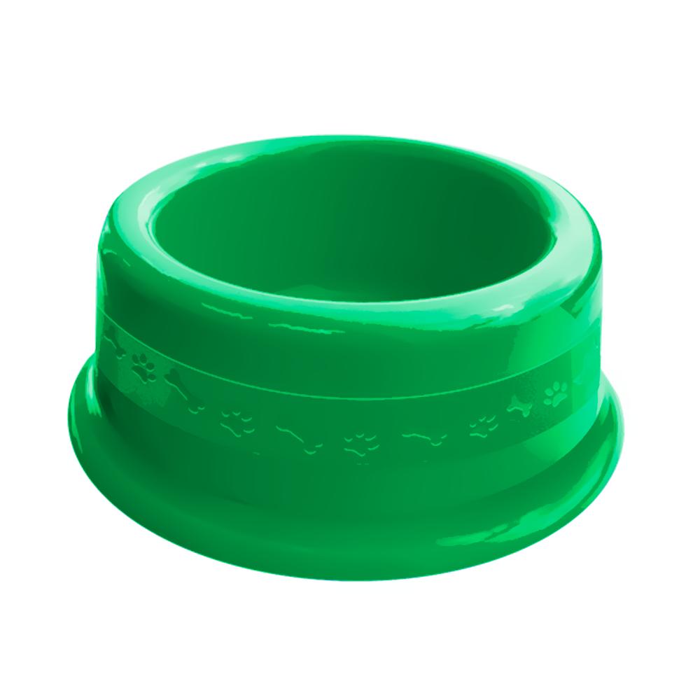 Comedouro plástico para cães e gatos Furacão Pet N3 - 1000 ml
