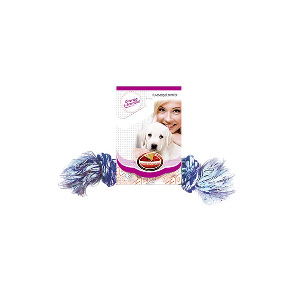 Dental Bone algodão com Nó - brinquedo para Cães Furacão Pet n1 - mini