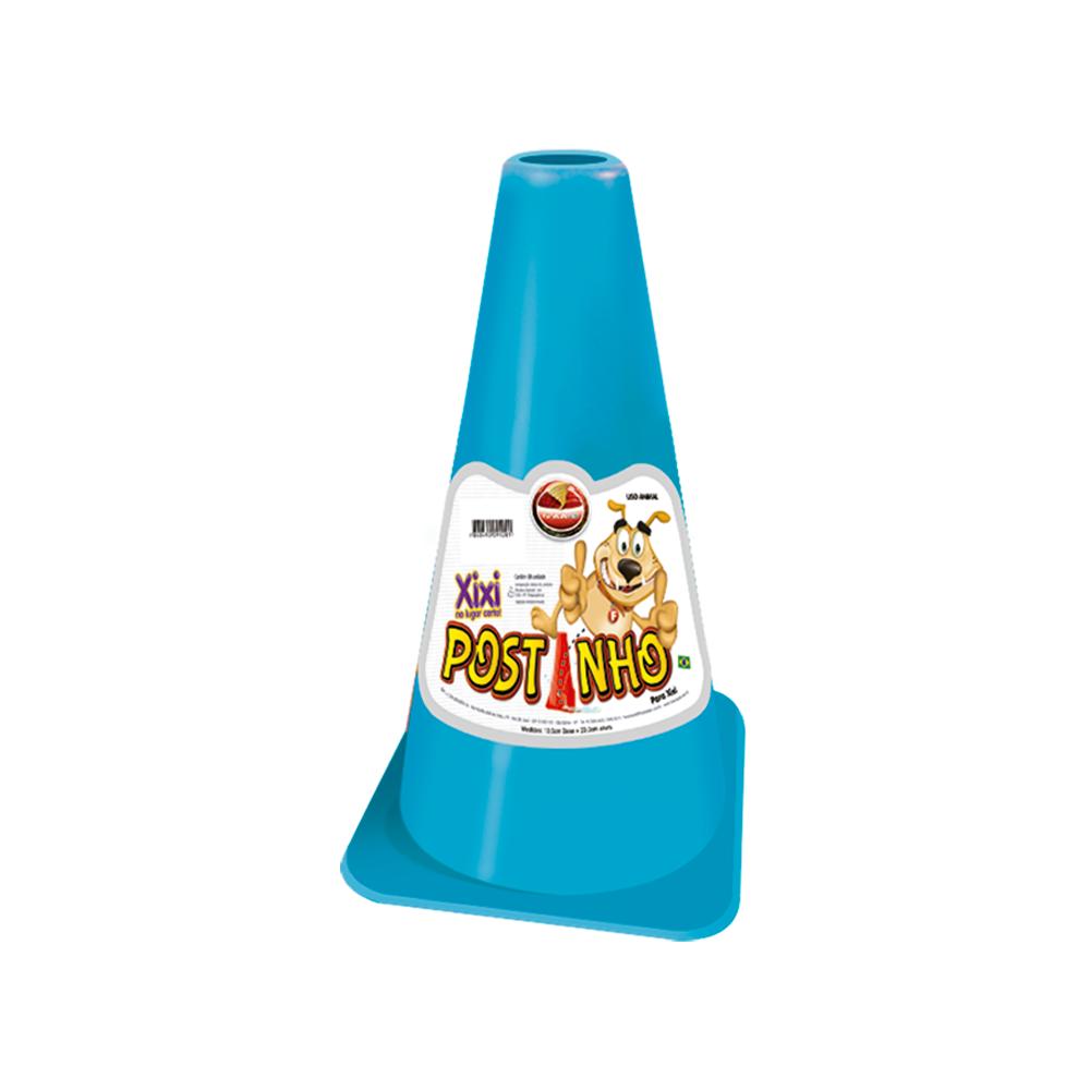 Postinho para xixi Furacão Pet (azul)  - Brinquedos para Cães e Gatos Furacão Pet