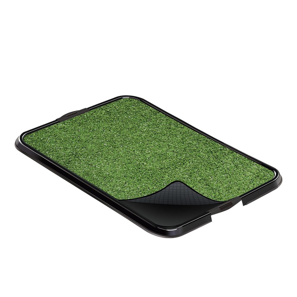 Xixi fácil Pop Sanitário Higiênico Furacão Pet - com grama