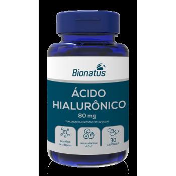 Ácido Hialurônico Bionatus 80mg - 30 cápsulas