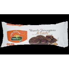 Biscoito Termogênico Sabor Canela Coberto com Chocolate Sem Glúten Kodilar 140g - (10 unidades)