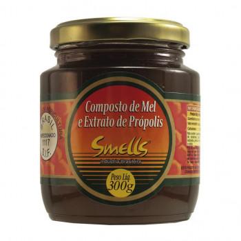 Composto de Mel e Extrato de Própolis Smells - 300g