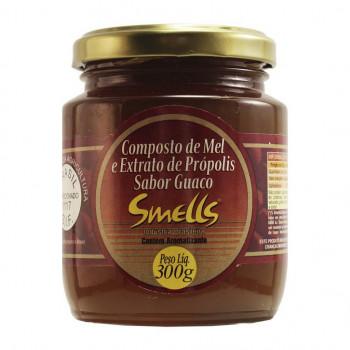 Composto de Mel e Extrato de Própolis Sabor Guaço Smells - 300g