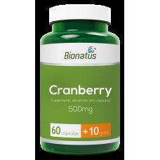 Cranberry Bionatus 500mg - 60 cápuslas 10 grátis