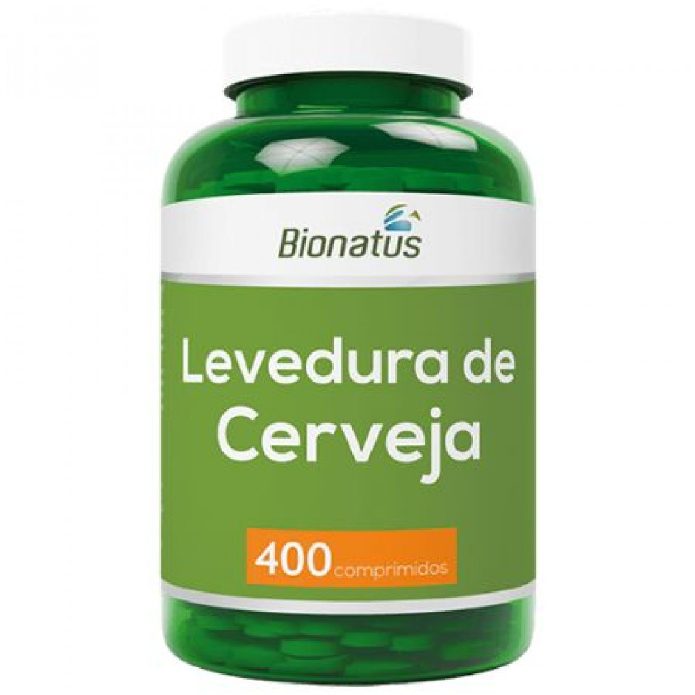 Levedura de Cerveja Green Bionatus - 400 comprimidos