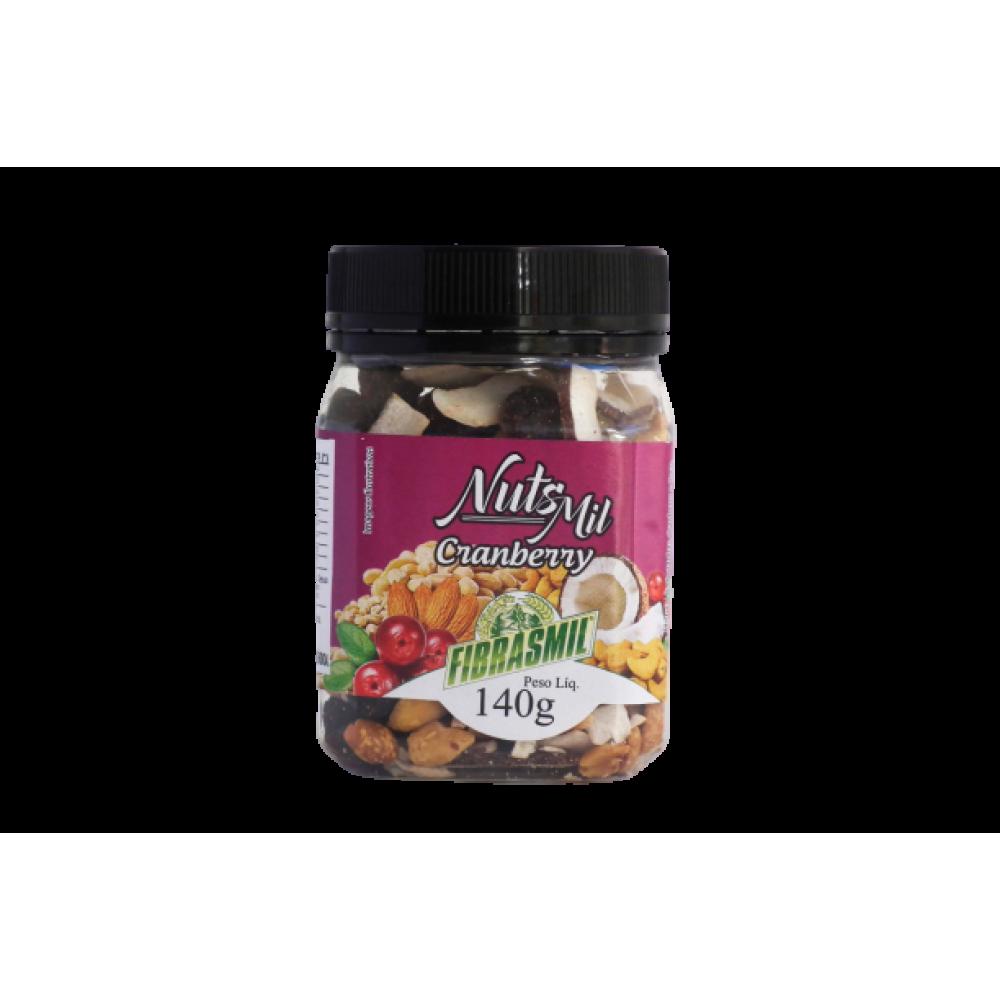 Nut's Mil Mix de Castanhas e Frutas Secas Fribasmil 140g - Cranberry
