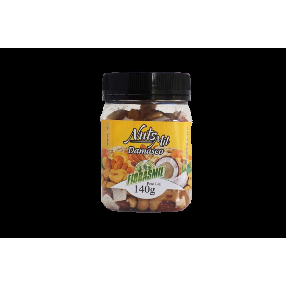 Nut's Mil Mixde Castanhas e Frutas Secas Fibrasmil 140g - Damasco