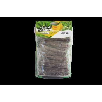 Palito de Banana Cistalizado Fibrasmil - 150g - (10 unidades)