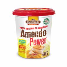 Pasta Integral de Amendoim Sem Adição de Açucar/Zero Lactose DaColônia - sabor Tradicional - 500G